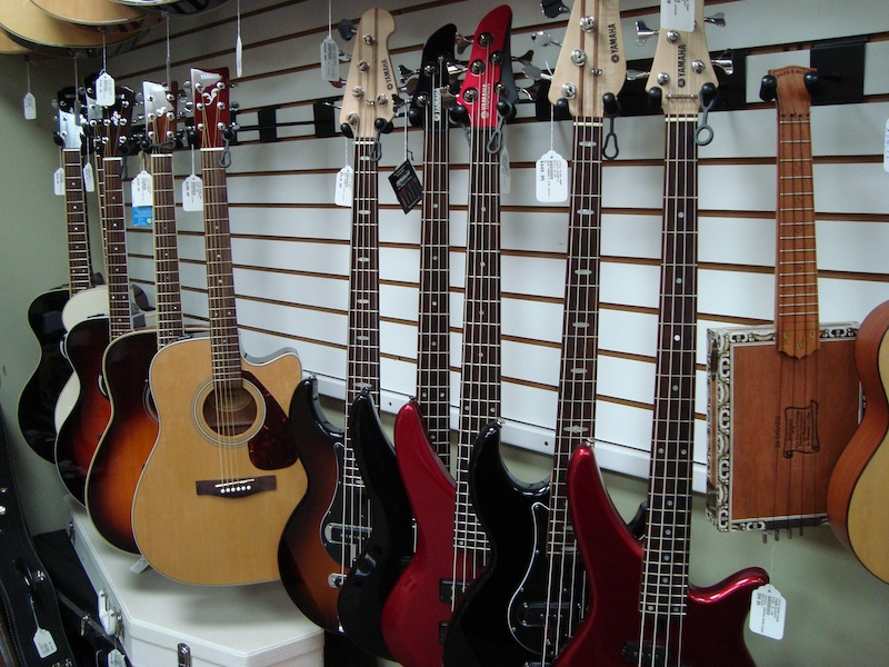guitars at Little River Pawn