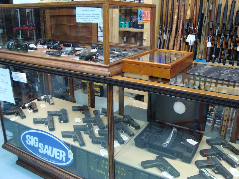 Pistols at Little river pawn shop